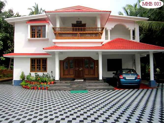Homes in kerala photos joy studio design gallery best for Interlocking brick house plans